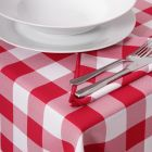 Kentucky Red Gingham Tablecloths