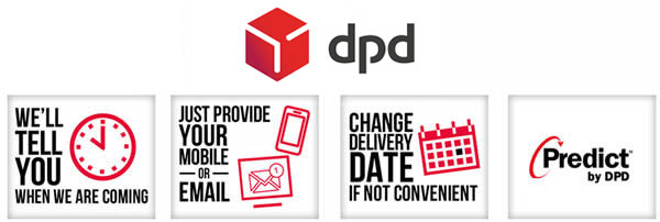 DPD delivery for your tablecloths order