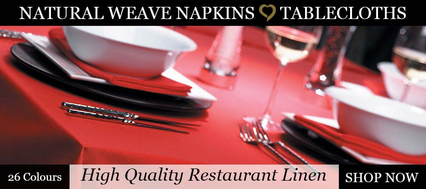 Natural Weave Tablecloths