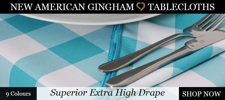 American Gingham Tablecloths